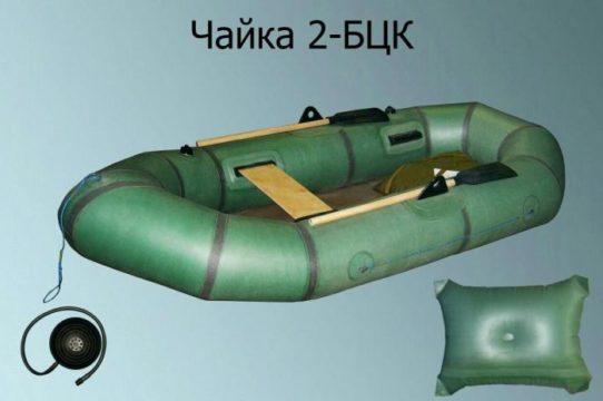 двухместная резиновая лодка Чайка-2