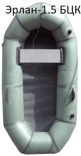 полутораместная резиновая лодка Эрлан-1,5