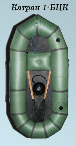одноместная резиновая лодка катран