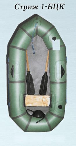 одноместная резиновая лодка стриж